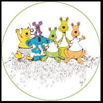 Kangoeroe: de wereldwijde reken-, denk- en puzzelwedstrijd Logo
